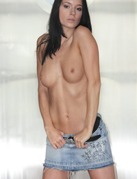 Anna,Sexy Silver FHG,Anna slowly undresses revealing her perfect breasts and silky smooth skin...